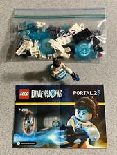 LEGO Dimensions 71203 Portal 2 Level Pack 85pc Complete Chell