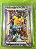 PELE CARD BRAZIL JERSEY #10 BRASIL SOCCER SP /99 PRIZM FUTBOL  2019 National VIP