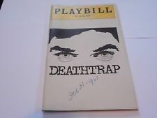 Vintage Playbill Program Deathtrap Music Box Theatre 1981 Farley Granger