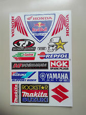 13 Sticker Adhesivo en arco Racing Motorsport honda yamaha suzuki búsqueda automática