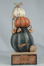 Jim Shore 'Feelin' Spooky' Stacked Jack-O-Lanterns 2019 #6004328 New In Box