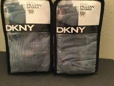 Dkny Intuition King Pillow Sham (Set Of 2) - Polar (Blue)