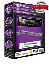SEAT IBIZA DAB+ RADIO LETTORE CD AUDIO PIONEER SUONA IPOD IPHONE USB Stick