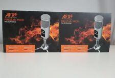 AFX Firestar MIC01 Professional USB Microphone - Silver