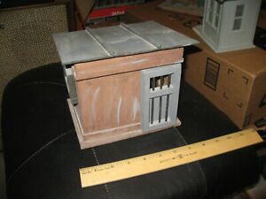 Built 1:24 G Scale Small Town Jail