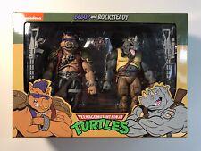 NECA Teenage Mutant Ninja Turtles Bebop and Rocksteady TMNT Nickelodeon NIP
