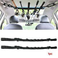 Universal Car Fishing Pole Holder Fishing Rod Storage Rack Nylon Lace Adjustable