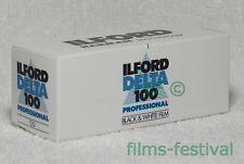 3 rolls ILFORD DELTA 100 120 Black and White Professional Film B&W