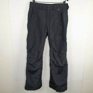 Columbia Women's Snow Pants Black Omni-tech Adjustable Waist Ski Size S