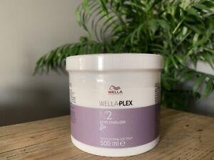 WellaPlex No2 Bond Stabilizer - Professional Use Only 500ml **RRP £60+**