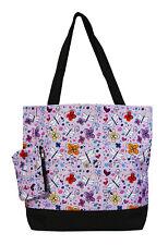 Jenzys Butterfly Womens Travel Tote Bag Purse Handbag Shopping Gym School