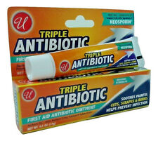 Triple Antibiotic first Aid Antibiotic Ointment 0.5 Oz Compare To Neosporin.