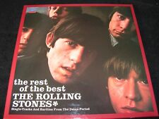 ROLLING STONES The Rest Of The Best / German Dutch 4LP BOX '83 LONDON 6.30125 FA