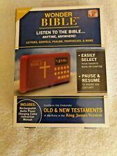 Wonder Bible The Talking Audio Bible Player