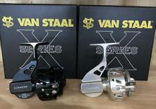 Van Staal VS150XP VS X-Series Spinning Reel. Polished Black OR Silver available