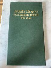 6 x Irish Linen Handkerchiefs By Thomas Ferguson