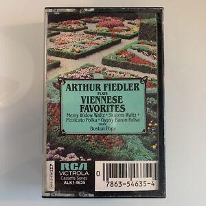 Arthur Fiedler Plays Viennese Favorites Boston Pops (Cassette)