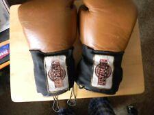 boxing gloves 16 oz leather vintage 1977 urp 14300 urp 16e