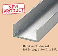 """24/"""" inch Long Mild Steel 2/"""" x 1/"""" Channel Bar 1//8/"""" gauge 2-ft"""