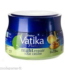 DABUR VATIKA NATURALS night repair hair cream arricchita con ricino, miele uova