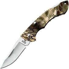 Buck Nano Bantam Satin Finish Drop Point Blade Kryptek Highlander Camo 0283CMS26