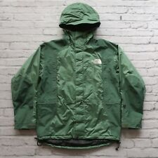 Vintage 90s North Face Goretex Mountain Guide Parka Jacket Size M Tonal Green