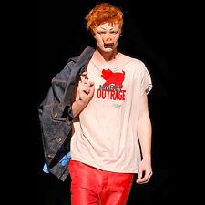 Sdegno morale Quadrato T-shirt da Vivienne Westwood-Loose Fit, Rosa, Organico, L
