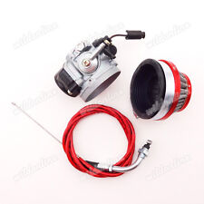 Gas Motorized Racing Carburetor Filter Throttle Cable For 80cc Bicycle PushBike