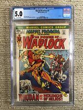 Marvel Premiere #2 Bronze Age Comic CGC 5.0 Warlock