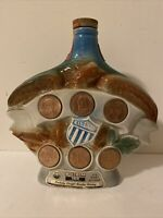 Vintage Jim Beam Liberty Eagle Empty Whiskey Decanter  1970