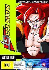 Dragon Ball GT Remastered Uncut Season 2 & Movie NEW R4 DVD