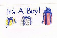 CREATIVE MEMORIES IT'S A BOY STICKER STRIP BN & NLA