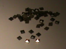 Lot of 60 Pyramid Faceted Marcasite Square Stones Natural & Nice 2mm Square