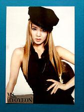 2011 GIRLS GENERATION SNSD MR TAXI JUMBO PHOTO CARD K-Pop Kpop - Hyoyeon
