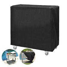 Schwarz Kühlwagenabdeckung Wasserdicht 90 * 52 * 88 cm Regenschutzabdeckung