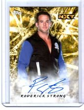 WWE Roderick Strong 2018 Topps Road To WrestleMania Authentic Autograph Card