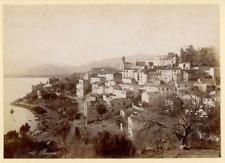 Algérie, Béjaïa (بجاية), Bougie, Vue générale  Vintage albumen print.  Tirage