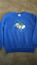 Disney Store Fleece Pullover Sweatshirt Youth Large Rex Ham Buzz Woody Graphic
