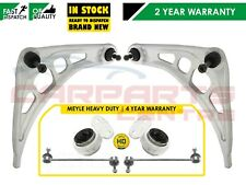 FOR BMW E46 LOWER TRACK CONTROL ARM ARMS MEYLE HD REAR BUSH BUSHES LINK LINKS