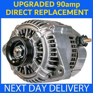UPRATED 90amp NEW ALTERNATOR fits TOYOTA MR2 MK1 1.6 AW11 AW10 4A-GEL 1984-1990