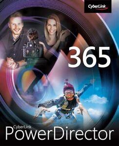 CyberLink PowerDirector 19 365 - 12 Monate, Download, Windows
