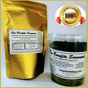 PlaqueOff Big Benefits Seaweed 200g Many Benefits Certified Organic Top Quality