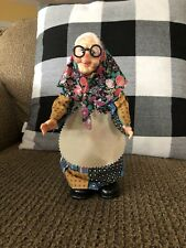 Creepy Old Lady Plastic Figure