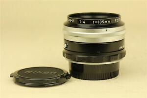 Nikon Nippon Kogaku Nikkor P 105mm f/4 Bellows Lens