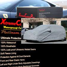 2018 2019 BMW 640I GRAN TURISMO WATERPROOF CAR COVER W/MIRROR POCKET GRAY