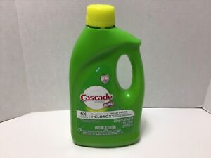 Cascade with Clorox 75 oz Bottle