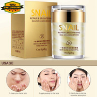 NEW ANTI WRINKLE SNAIL CREAM AND NOURISHING ACNE  TREATMENT FACIAL SKIN CARE