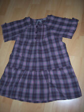 "Robe tunique ""Okaïdi"" 6 ANS violet/rose/marron"