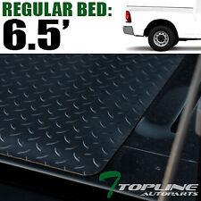 Topline For 02-18 Dodge Ram Rambox 6.4' Rubber Truck Bed Trunk Mat Liners -Black