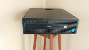 PC ordinateur HP prodesk 600G1 SFF , G3250 ,RAM 8GO, DD500Go